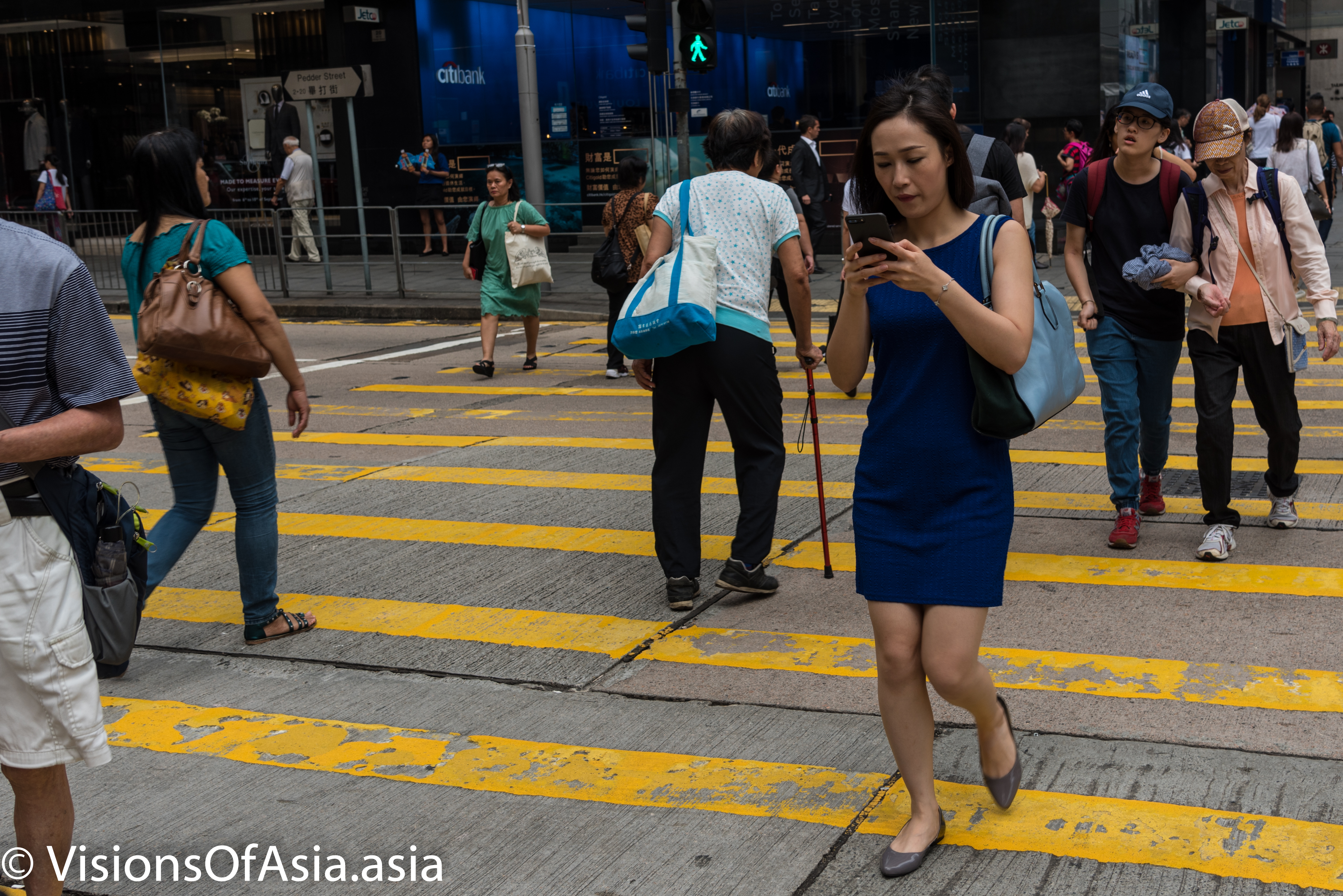 Street photography in Central Hong Kong