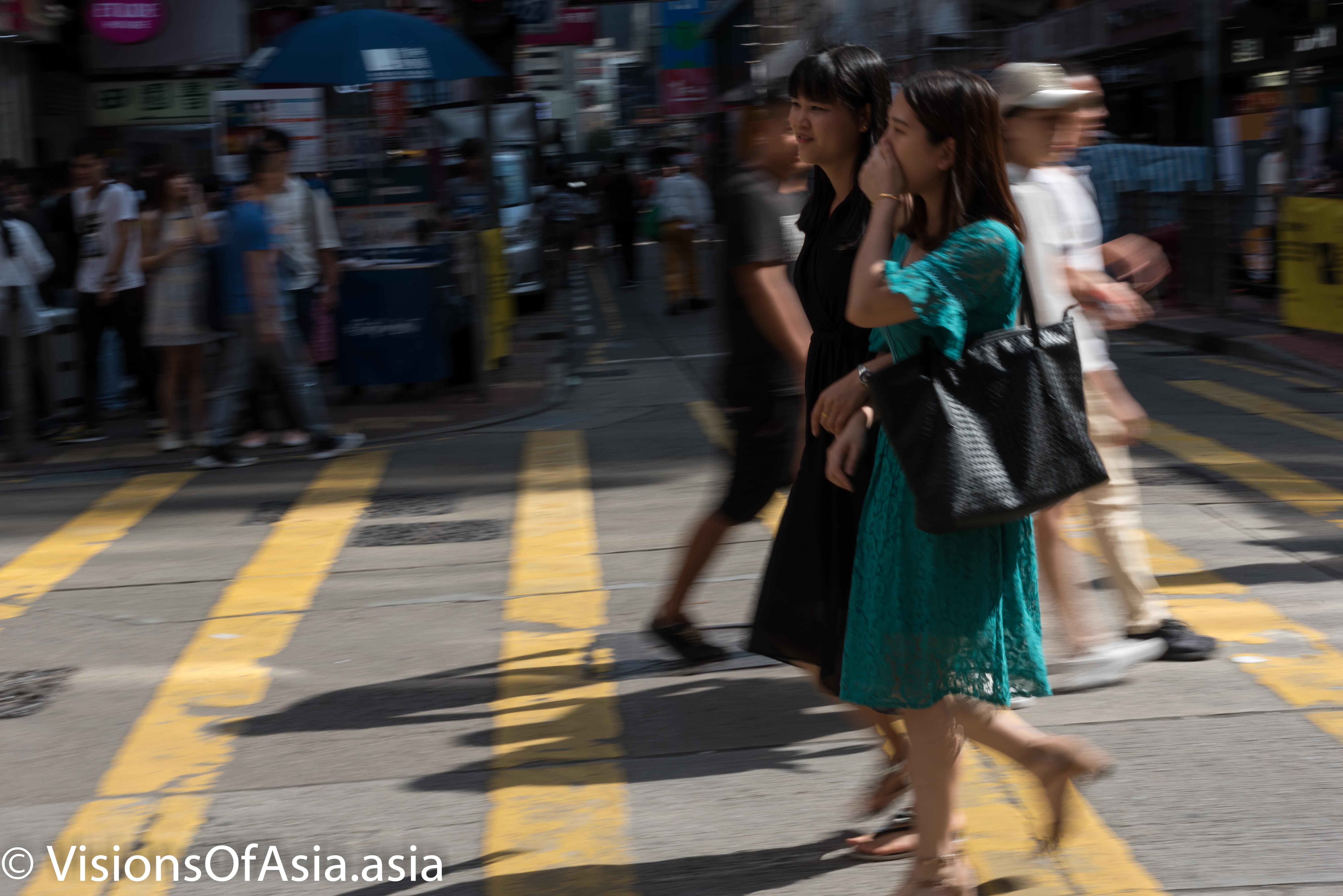 Ladies crossing