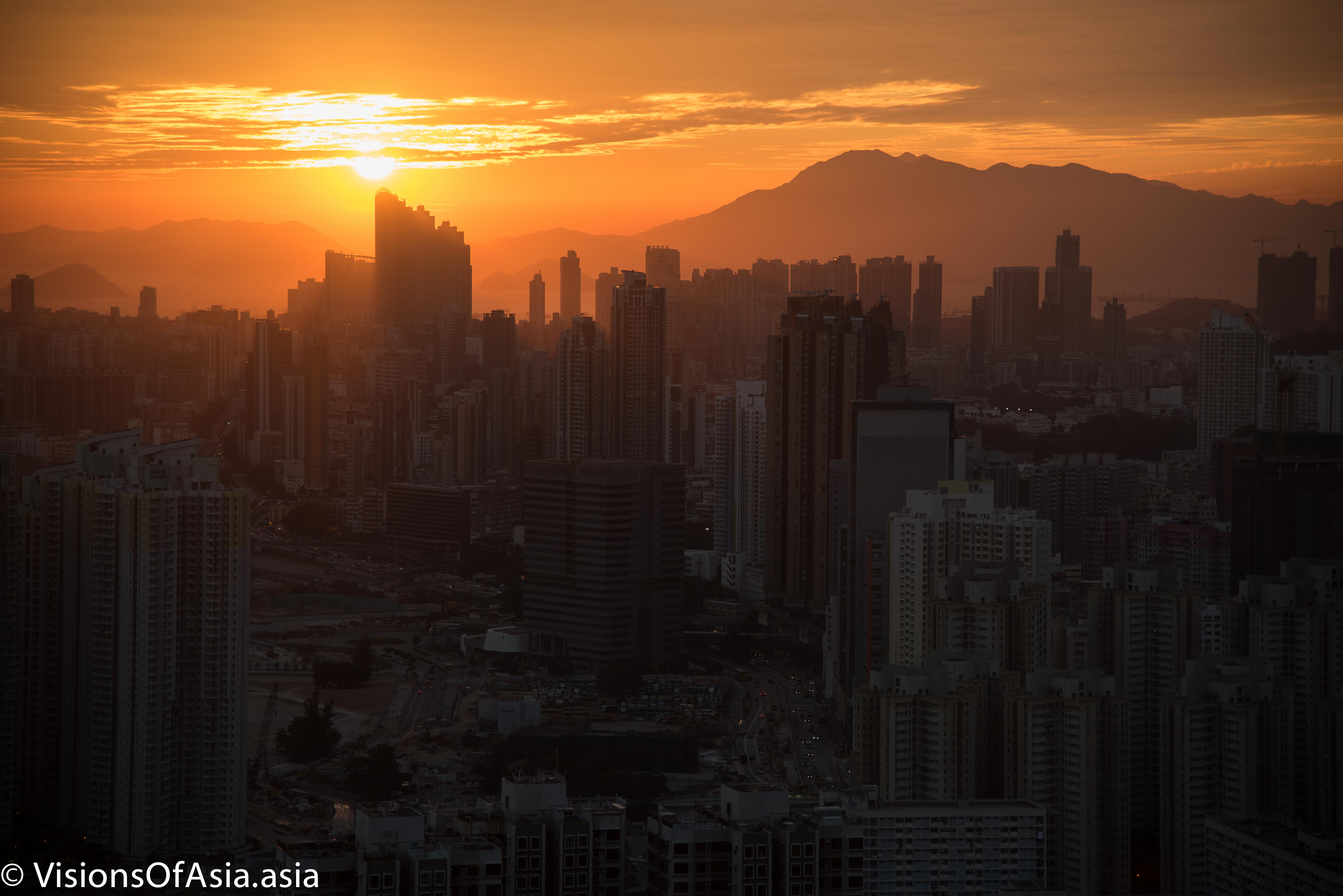 Sunsets over Hong Kong: loss of hope
