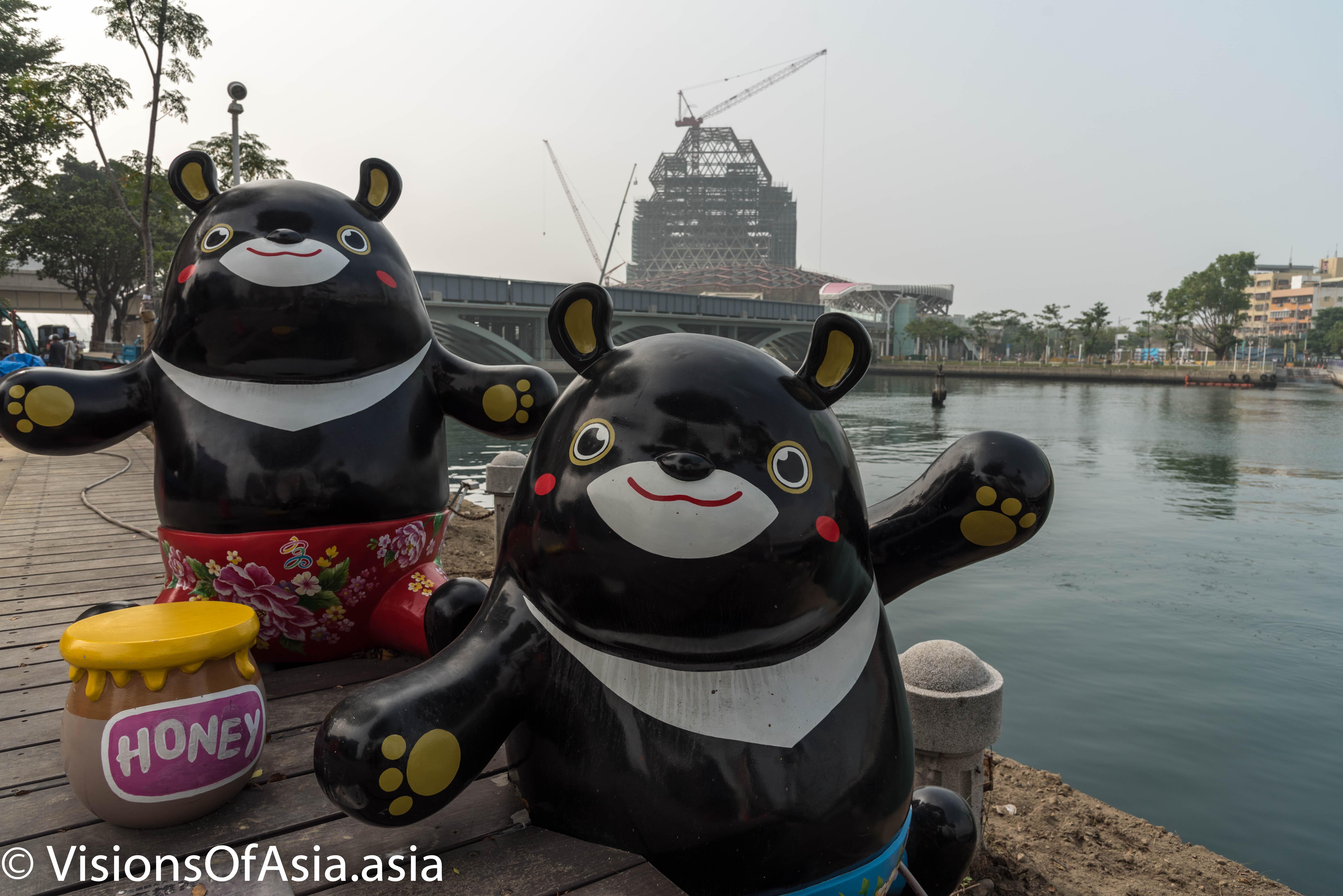 Hero, the mascot of Kaohsiung