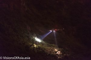 Helicopter rescue on Kowloon peak