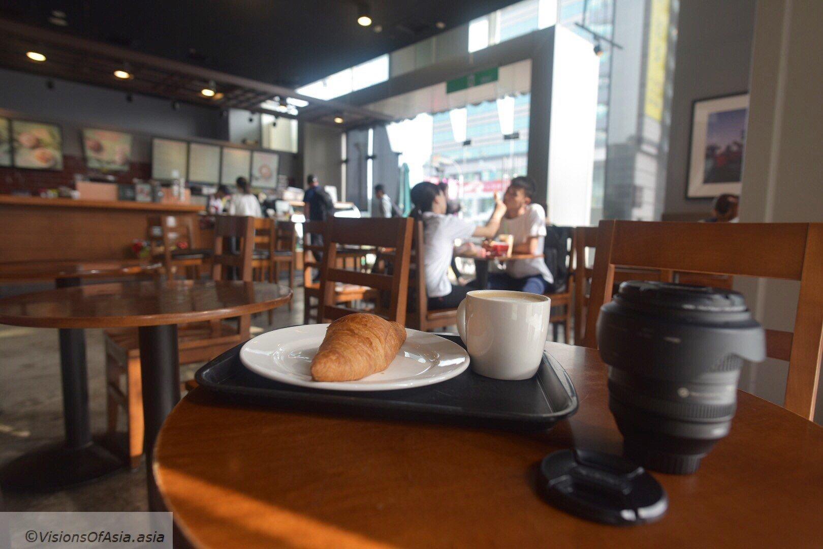 Bfast at Starbucks