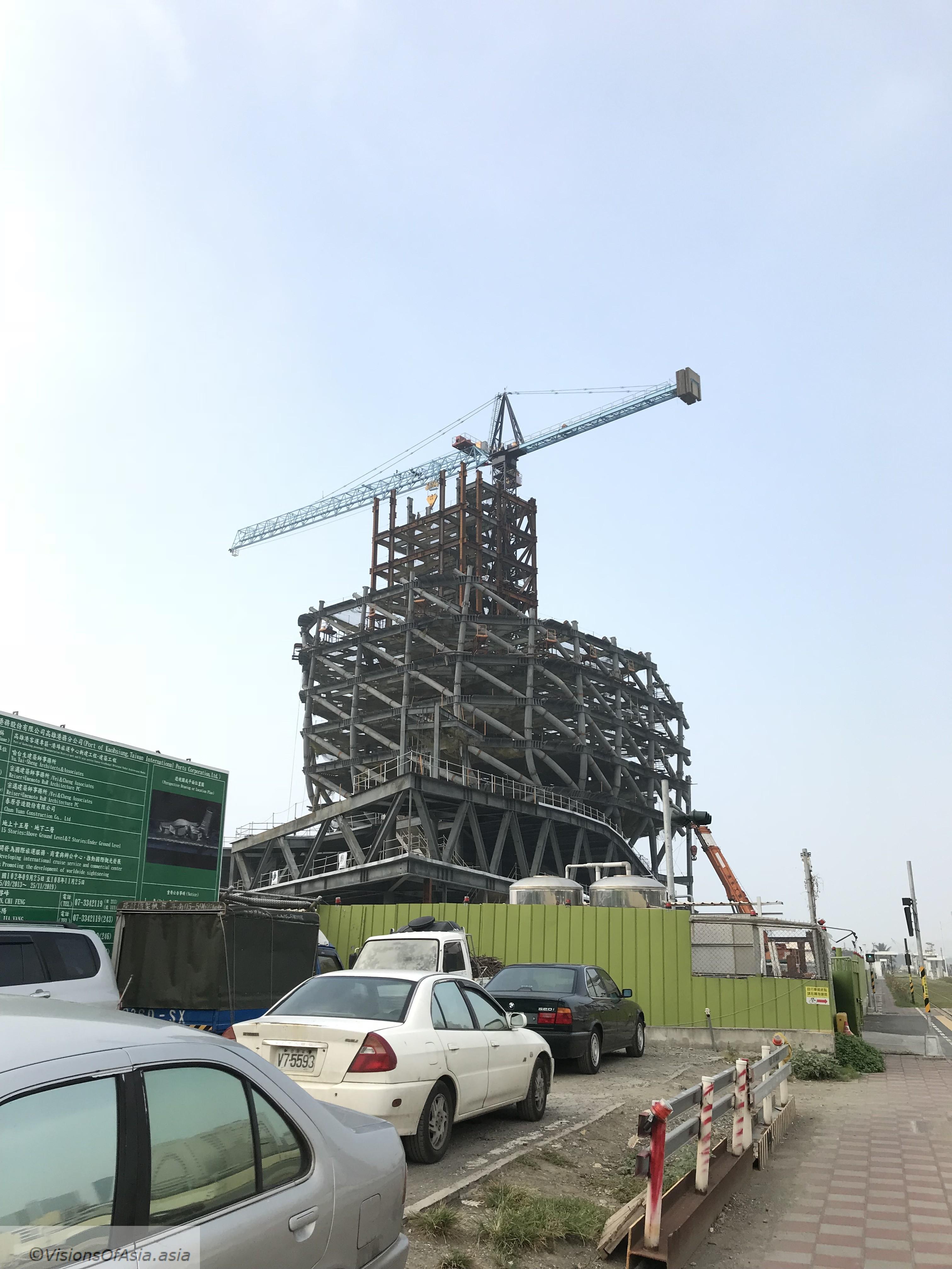 Noah's ark in Kaohsiung.