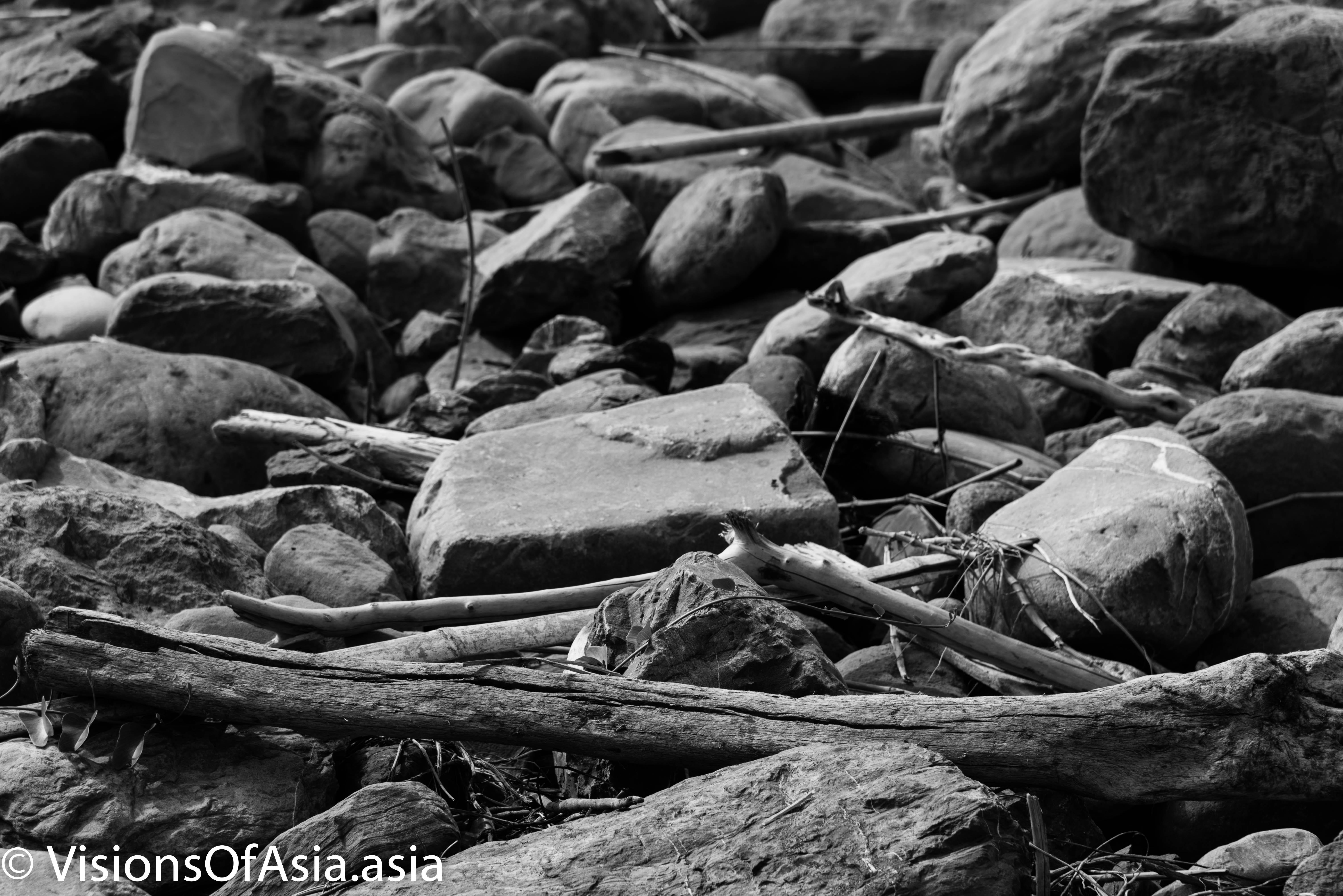 Beach debris Cijin island