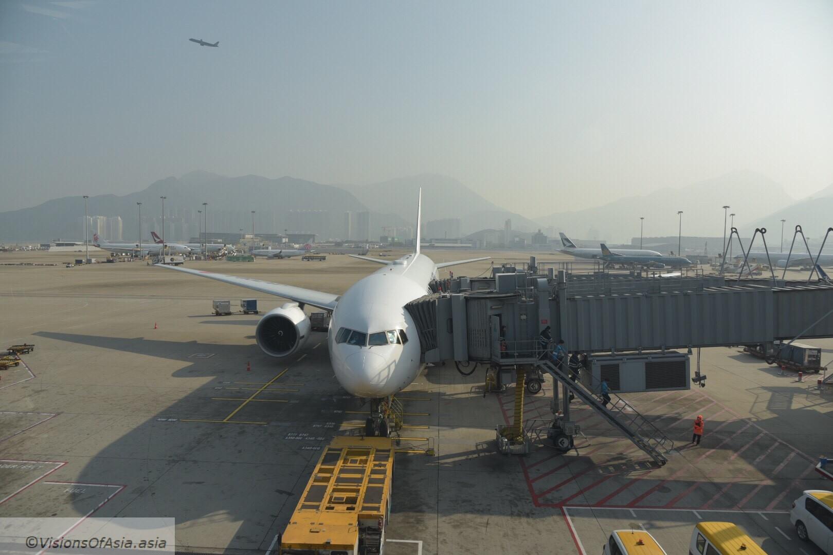 JAL 26 flight