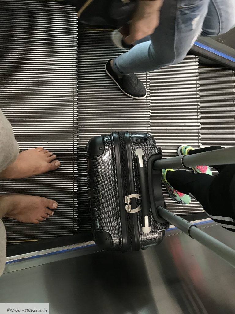 Barefoot in the MTR