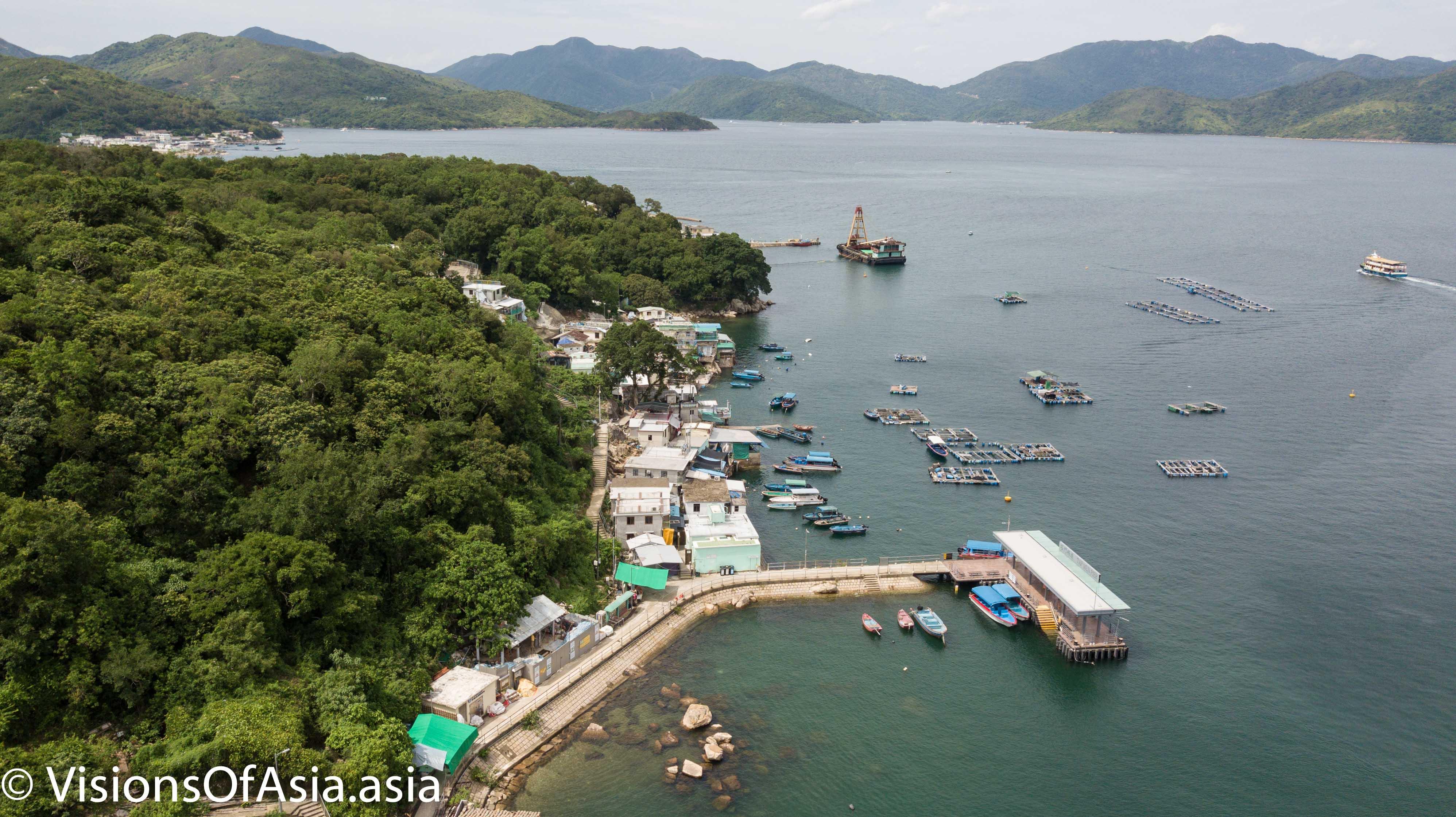 Tap Mun Island jetty