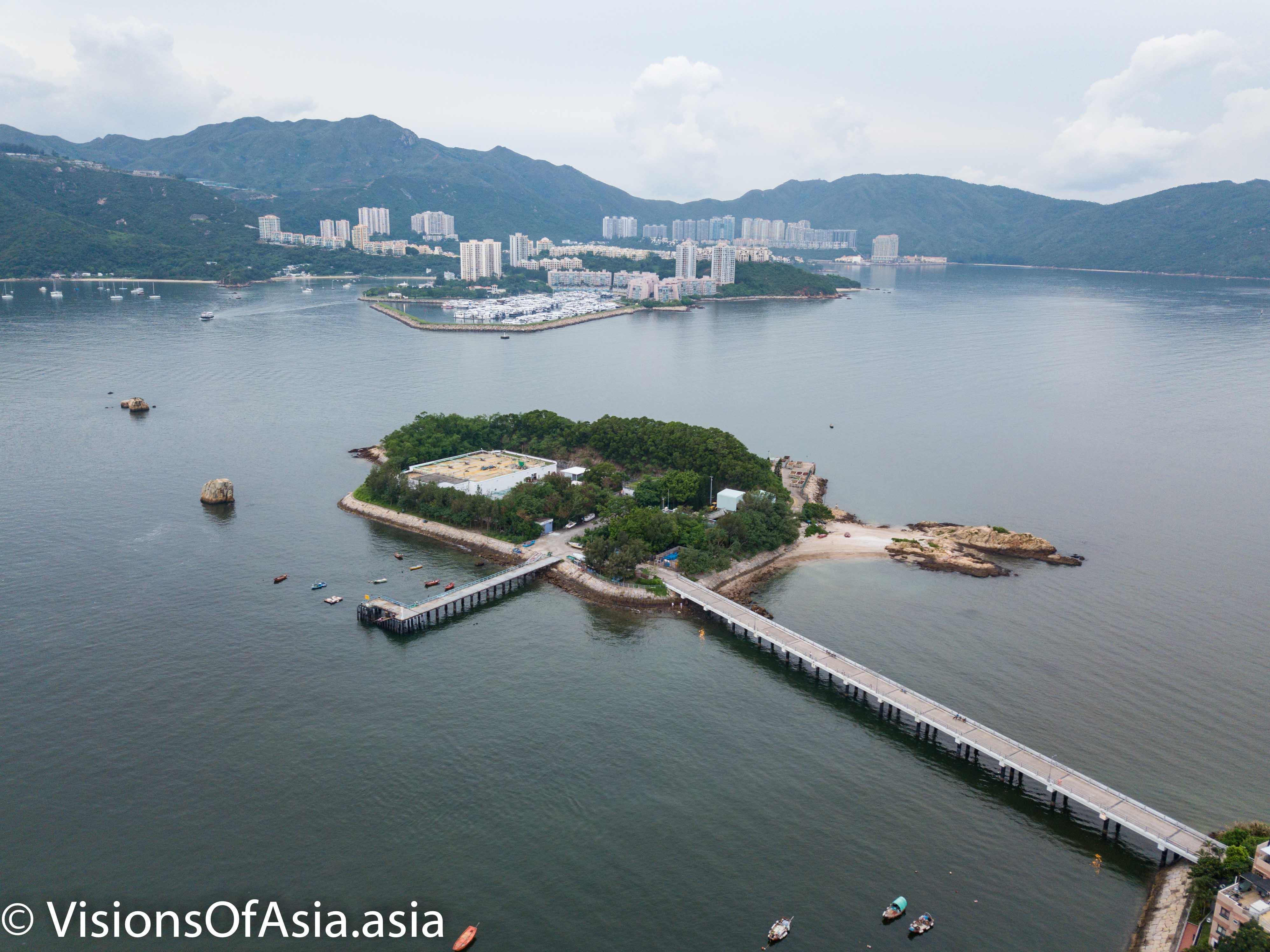 Tai Lei island by drone