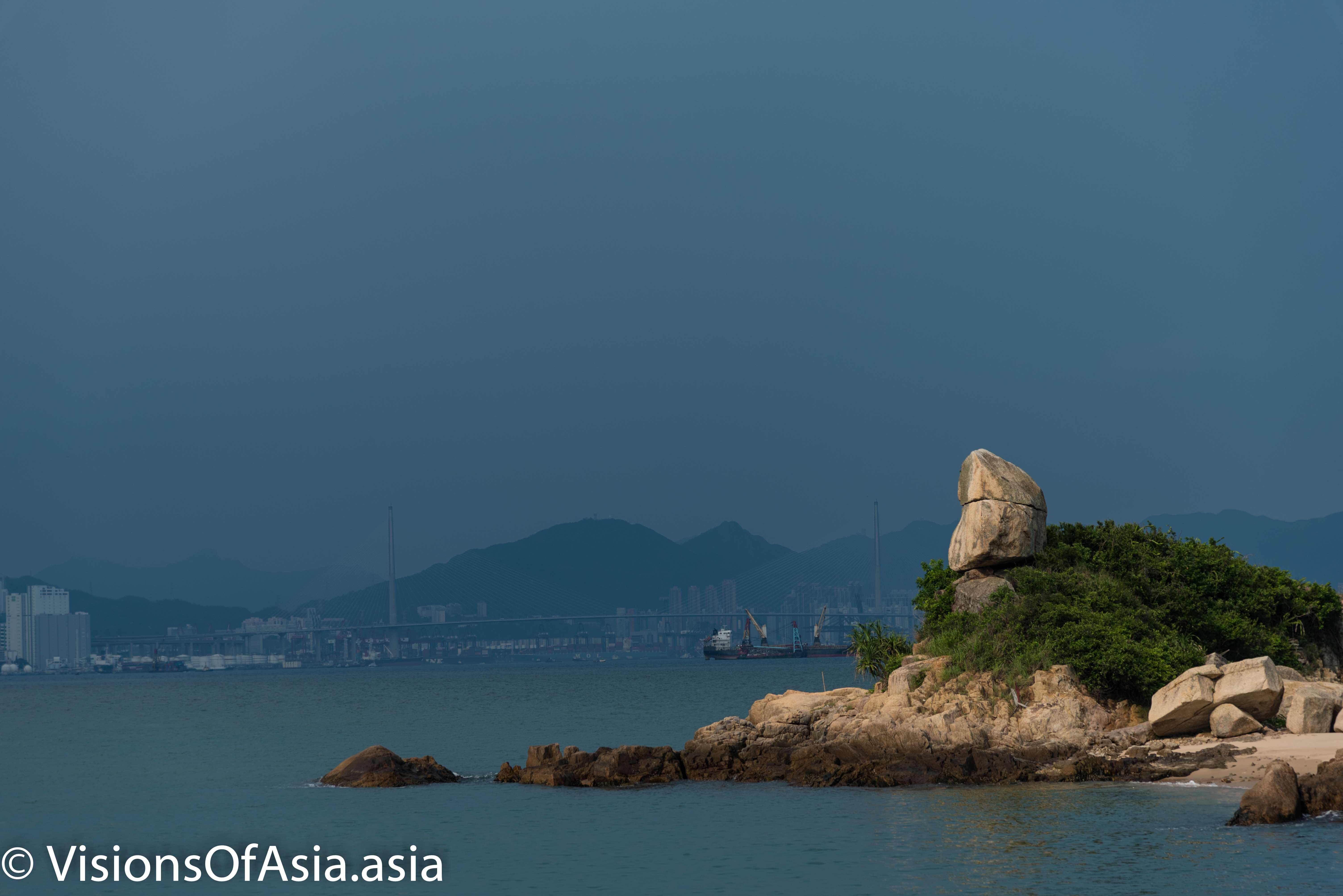 Old fisherman's rock in Peng Chau