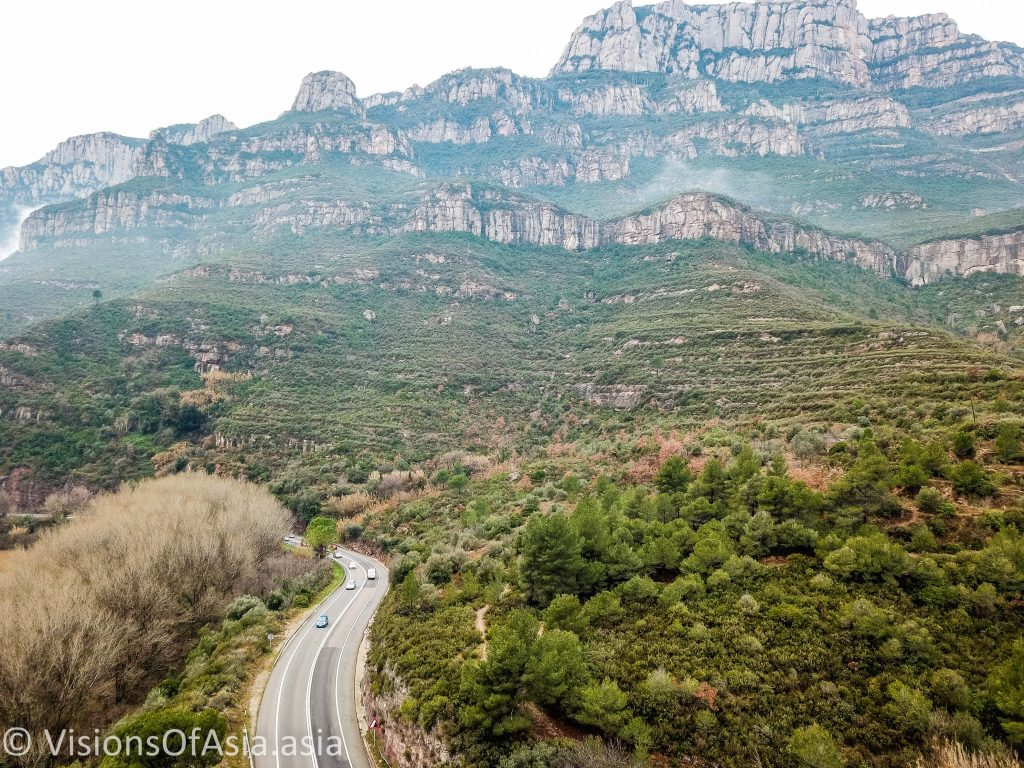 Gorges of Monserrat