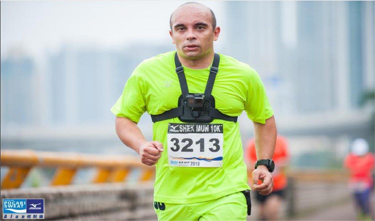 First 10K barefoot race