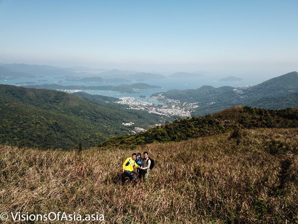 Hikers on Tung Yeung shan