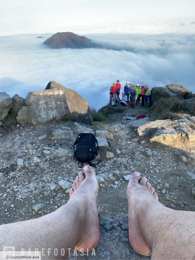 On the top of Lantau Peak
