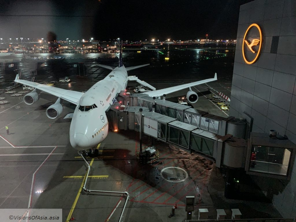 B747-8 in Frankfurt