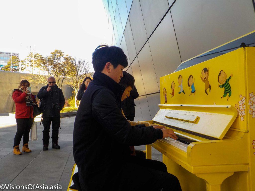 Design museum piano