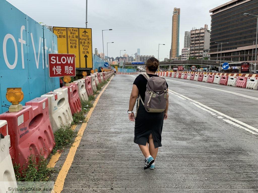 Empty streets near To Kwa Wan