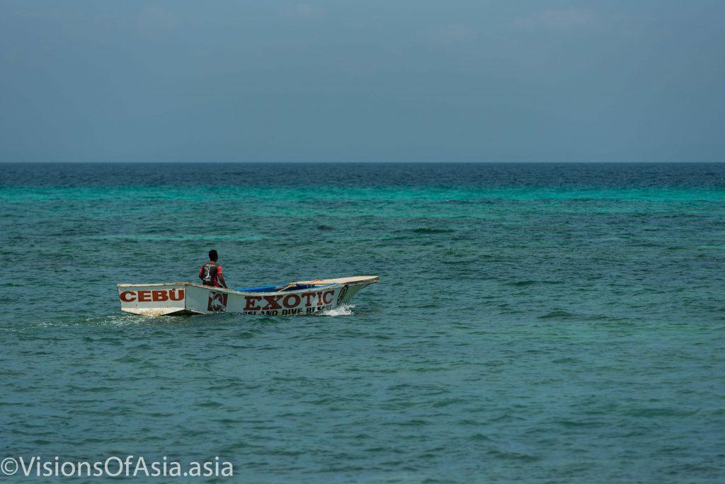 Boat in Malapascua