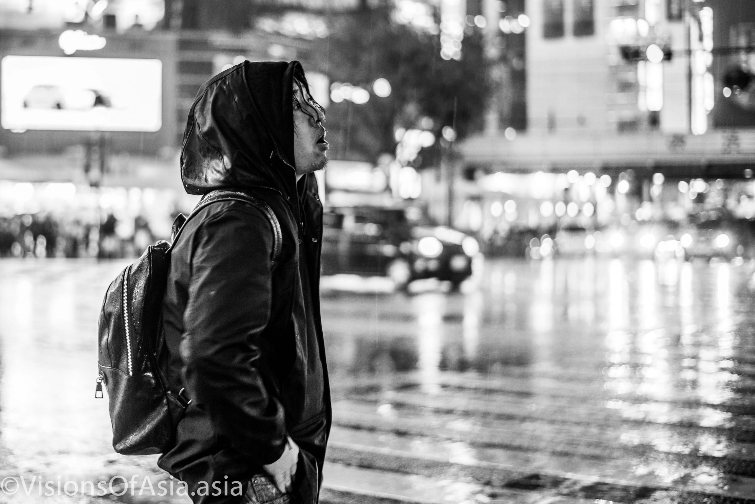 Rainy Night in Shibuya