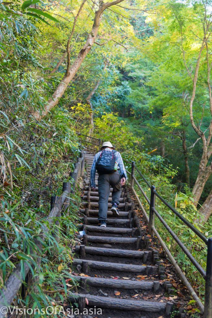 The Inariyama trail start