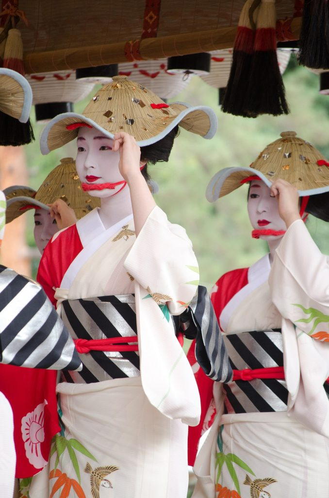 Japanese ladies at a Matsuri
