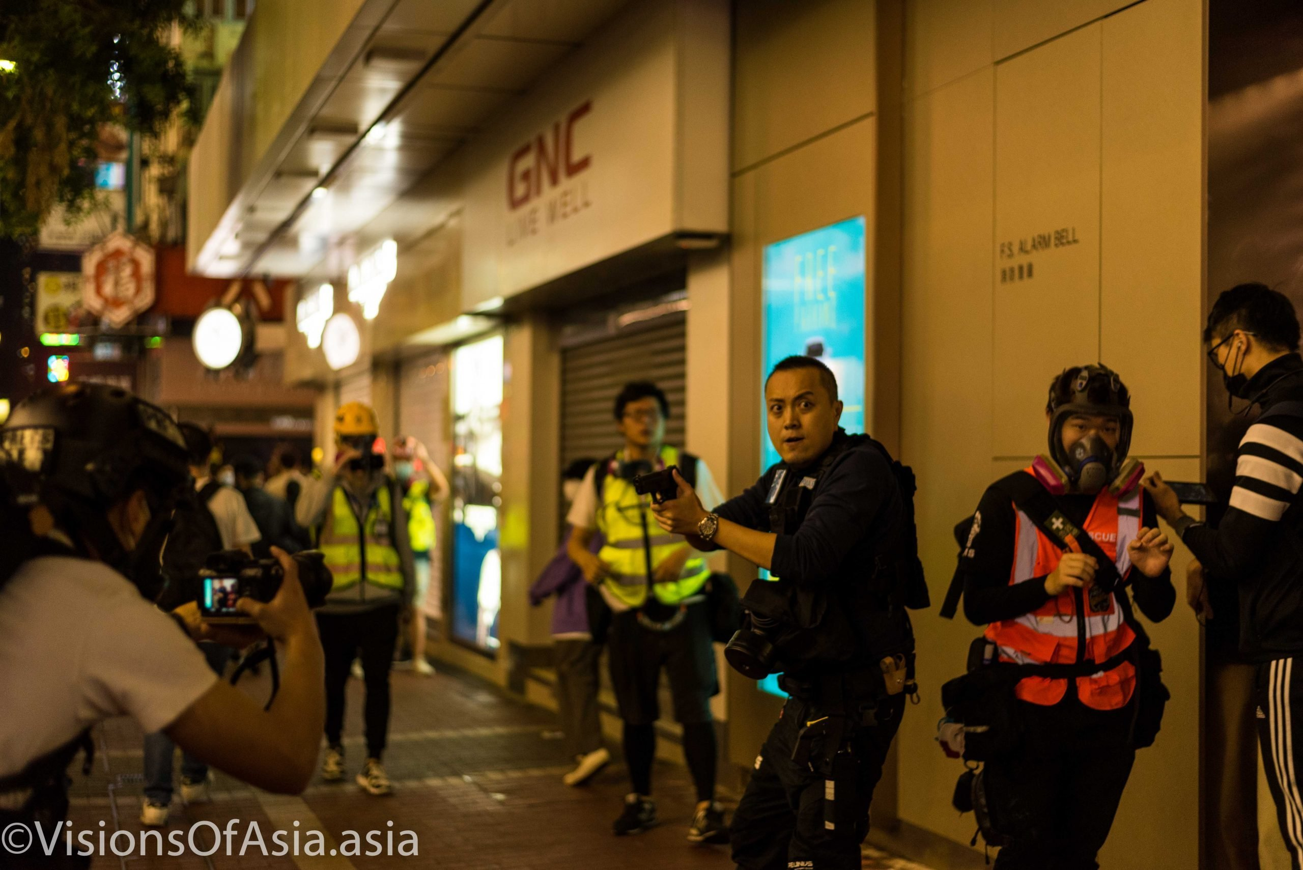 Context is king: when guns come out in Hong Kong